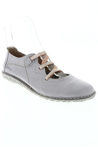 nice chaussures femme de couleur violet