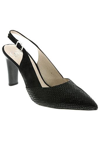 caprice chaussures femme de couleur noir