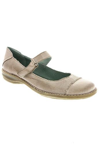 chacal chaussures femme de couleur beige