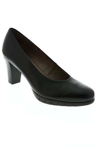 wonders chaussures femme de couleur noir