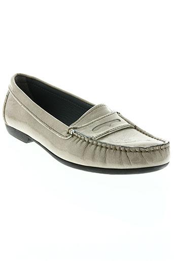 arcus chaussures femme de couleur beige