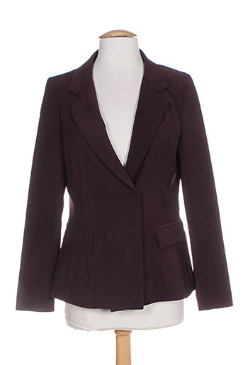 amz vestes femme de couleur violet