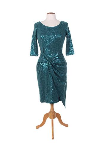 amz robes femme de couleur vert