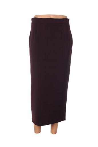 amz jupes femme de couleur violet