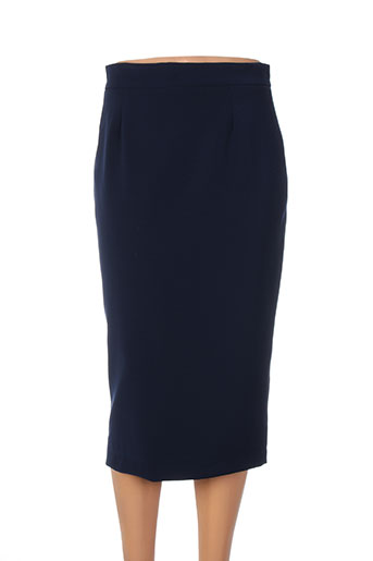 amz jupes femme de couleur bleu