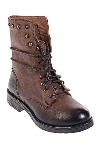 inuovo chaussures femme de couleur marron