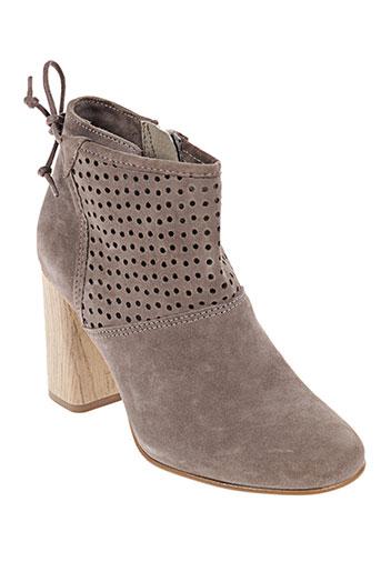 cafe noir chaussures femme de couleur beige 6380b3e2956