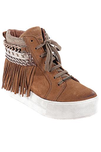 nemonic chaussures femme de couleur marron