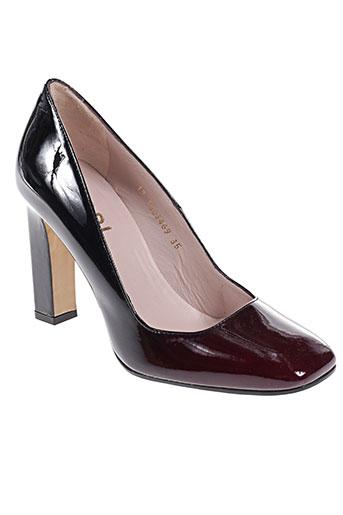 lodi chaussures femme de couleur rouge
