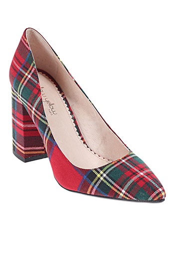 mellow yellow chaussures femme de couleur rouge