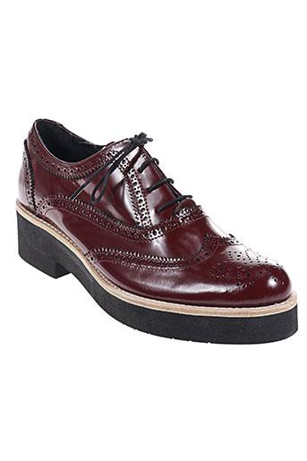 e-pole chaussures femme de couleur rouge