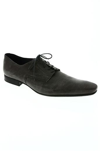 edito chaussures homme de couleur gris