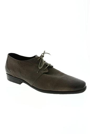 daniel hechter chaussures homme de couleur marron