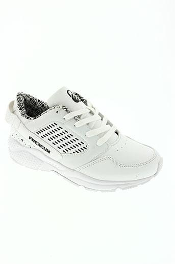 freegun chaussures homme de couleur blanc