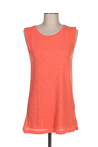 yaya t-shirts femme de couleur orange