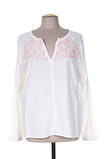 acoté chemises femme de couleur beige