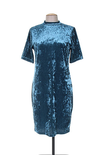 b.young robes femme de couleur bleu