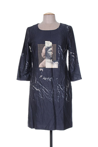 Robe mi-longue gris NICE THINGS pour femme