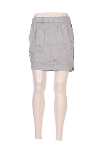 yaya jupes femme de couleur gris