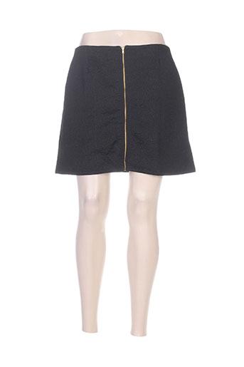 Jupe courte noir COQUELICOT pour femme