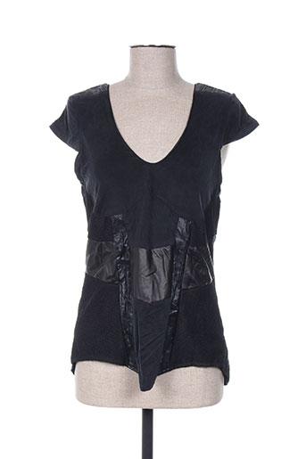 anne turtaut chemises femme de couleur noir