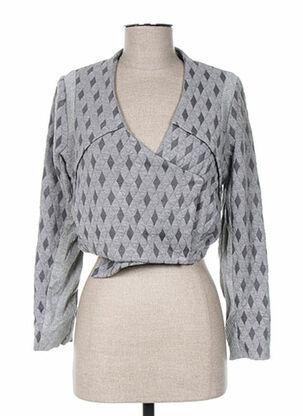 Veste casual gris ANNE TURTAUT pour femme