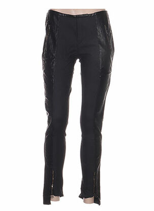 Pantalon casual noir ANNE TURTAUT pour femme