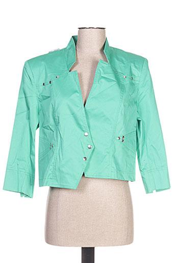 quattro vestes femme de couleur vert