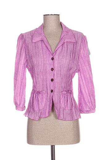 quattro vestes femme de couleur violet