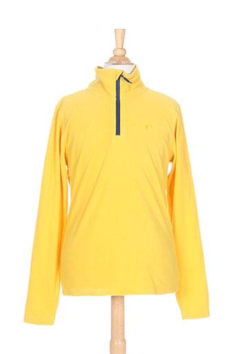 brekka pulls garçon de couleur jaune