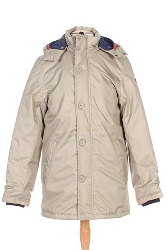 brekka manteaux homme de couleur beige