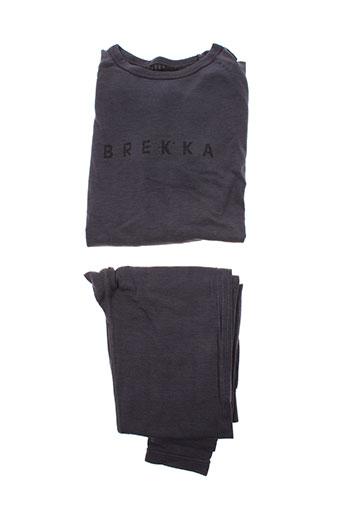 brekka lingerie femme de couleur gris