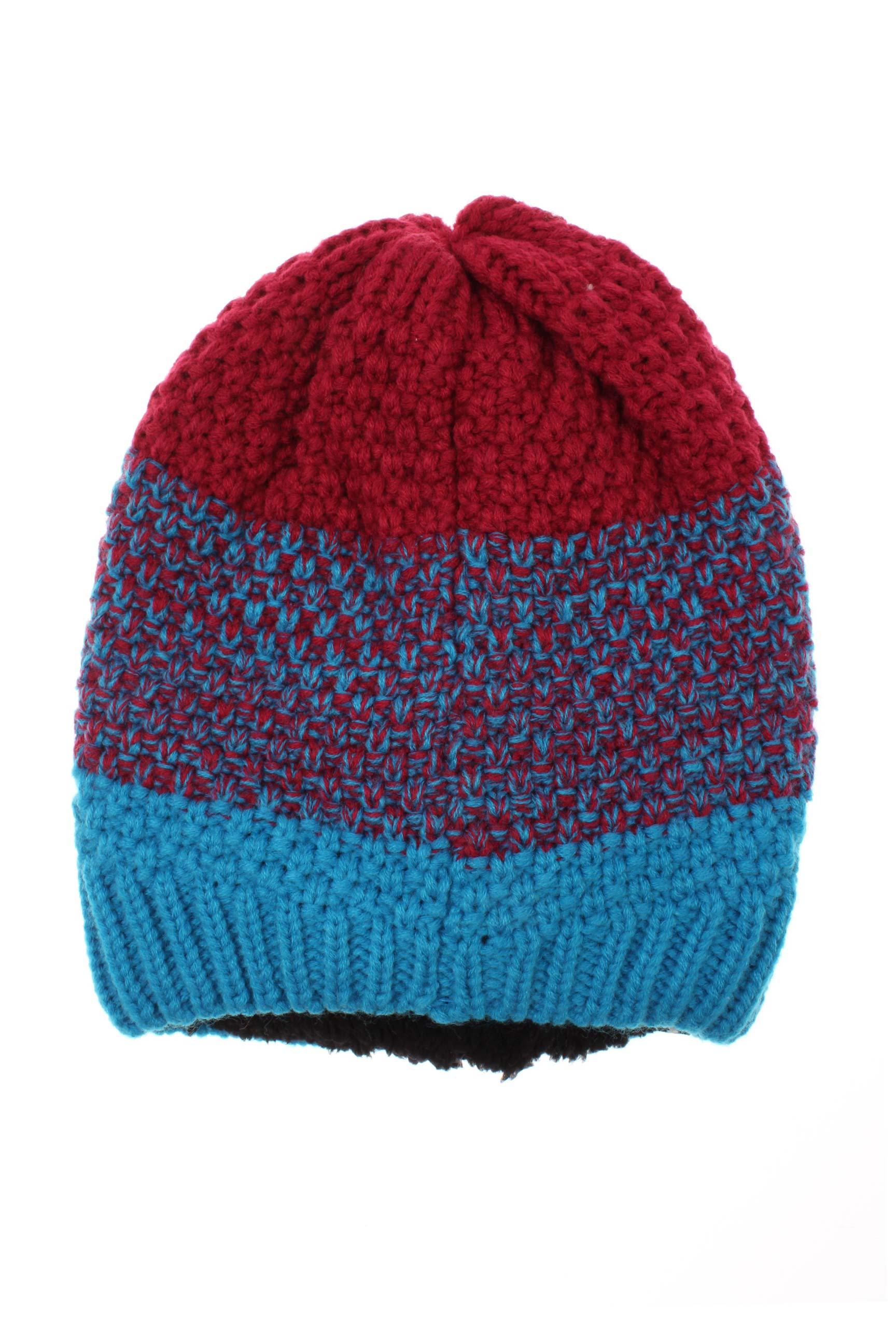 photos officielles 1f48e 2662b BREKKA Accessoires Bonnets de couleur bleu en soldes pas cher  1118553-bleu00 - Modz