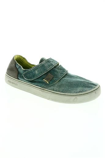 satorisan chaussures homme de couleur vert
