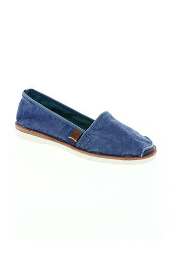 satorisan chaussures femme de couleur bleu