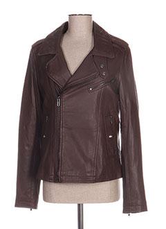 Vanessa Noir Mesdames femmes new retro véritable mouton souple longue veste en cuir nappa