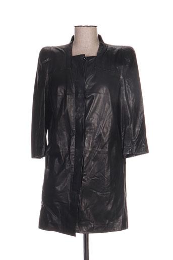 la canadienne vestes femme de couleur noir
