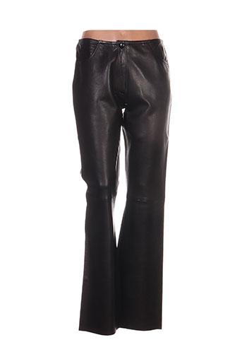 la canadienne pantalons femme de couleur marron