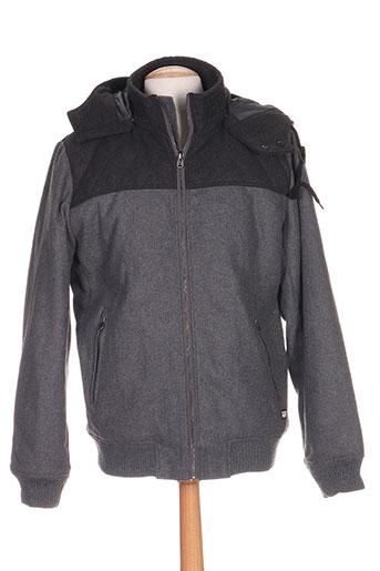 tiffosi vestes homme de couleur gris