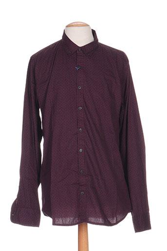 men of all nation chemises homme de couleur violet