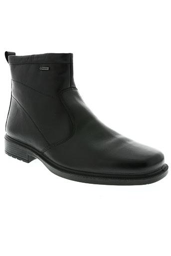 ara chaussures homme de couleur noir