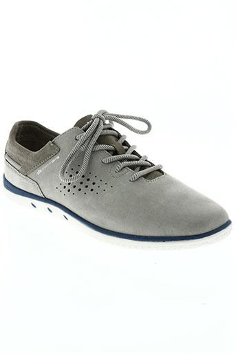 tbs chaussures homme de couleur gris