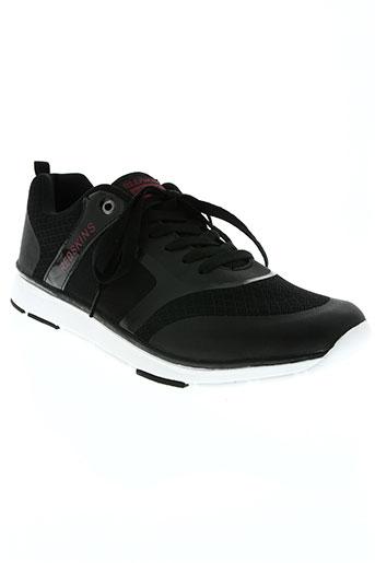 redskins chaussures homme de couleur noir