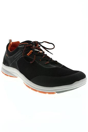 allrounder chaussures homme de couleur noir