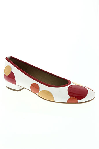 brenda zaro chaussures femme de couleur blanc