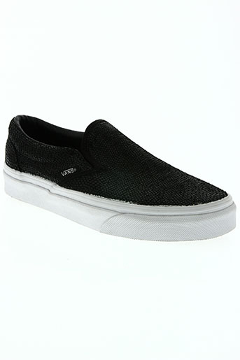 vans chaussures femme de couleur noir