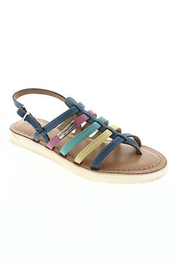 les tropeziennes par m.belarbi chaussures fille de couleur bleu