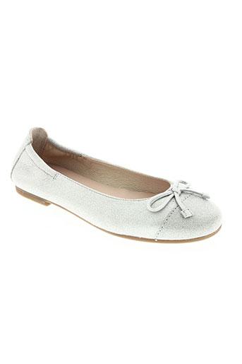 unisa chaussures fille de couleur gris