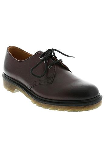 dr martens chaussures garçon de couleur marron