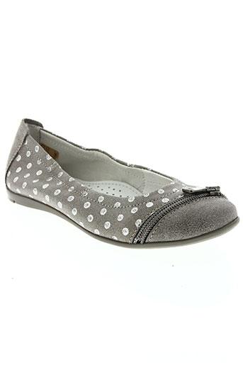 ramdam chaussures fille de couleur gris